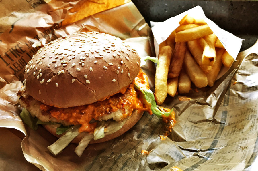 Oporto-Burger-Fries