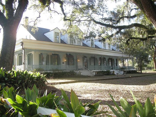 Exterior of Myrtles Plantation - St. Francisville