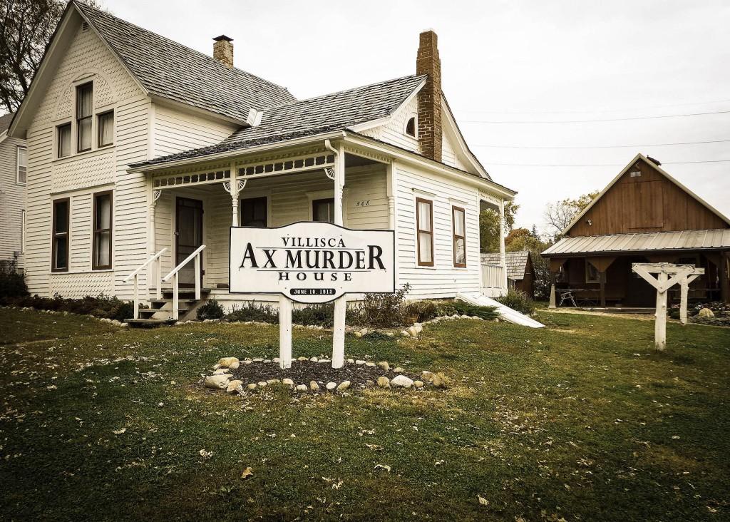 Exterior of Villisca Ax Murder House