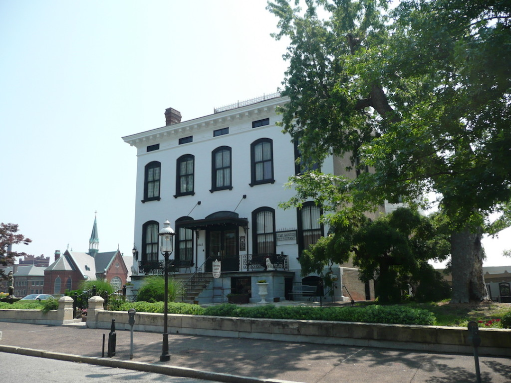 Front Exterior of The Lemp Mansion