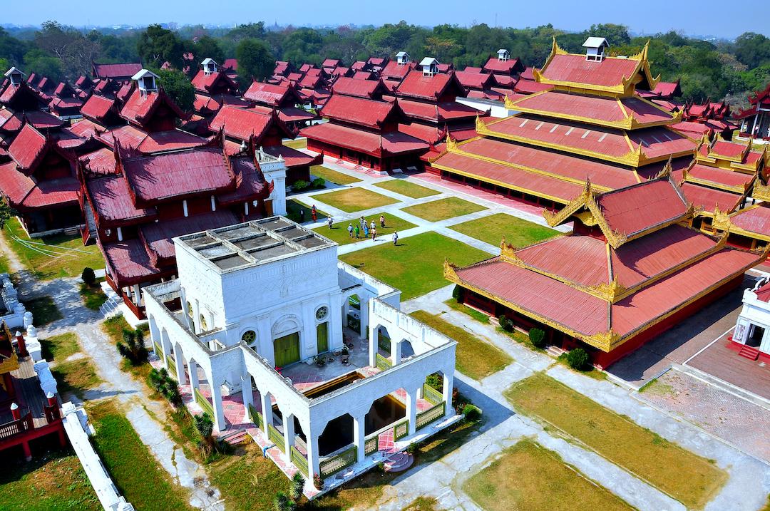 Mandaly, Mandalay Palace Topdeck