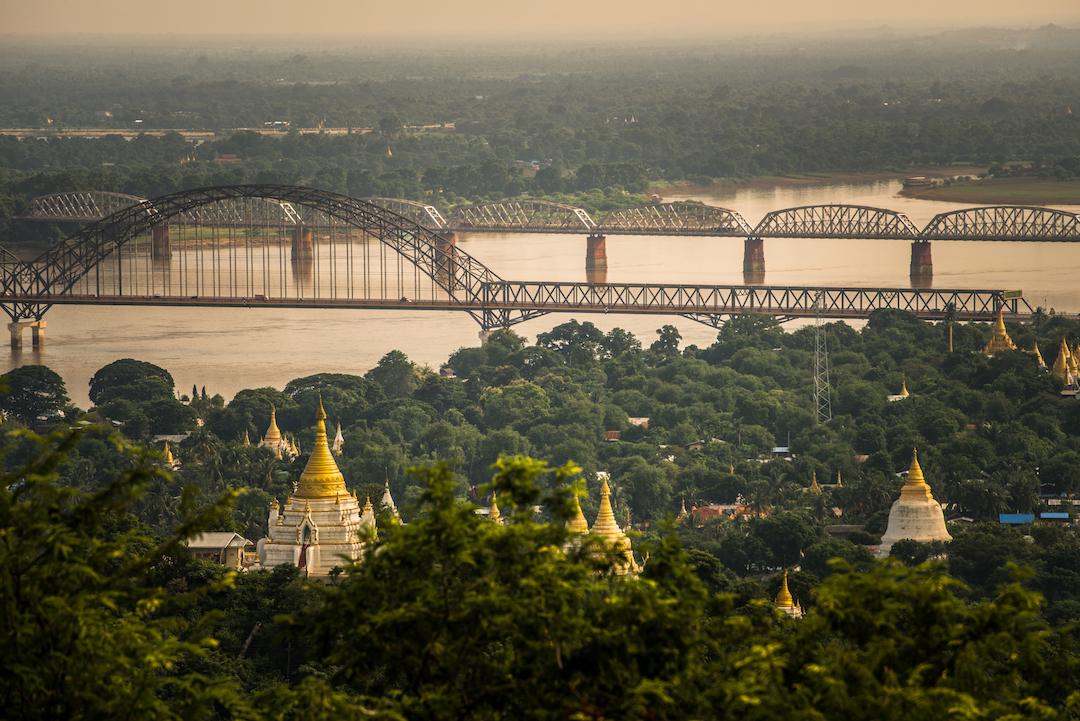 Sagaing, Myanmar, Topdeck