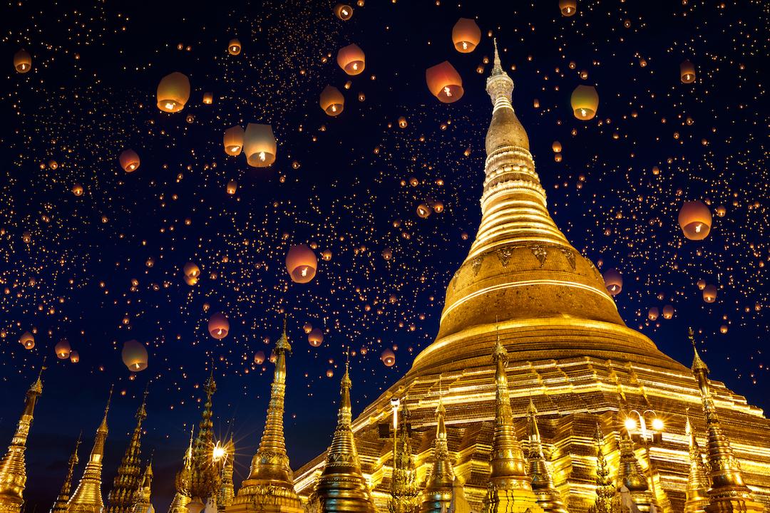 Shwedagon Pagoda, Myanmar Topdeck