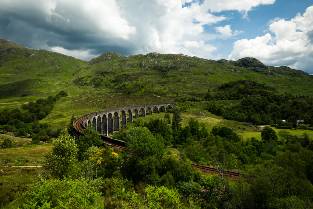 Harry Potter places in Scotland