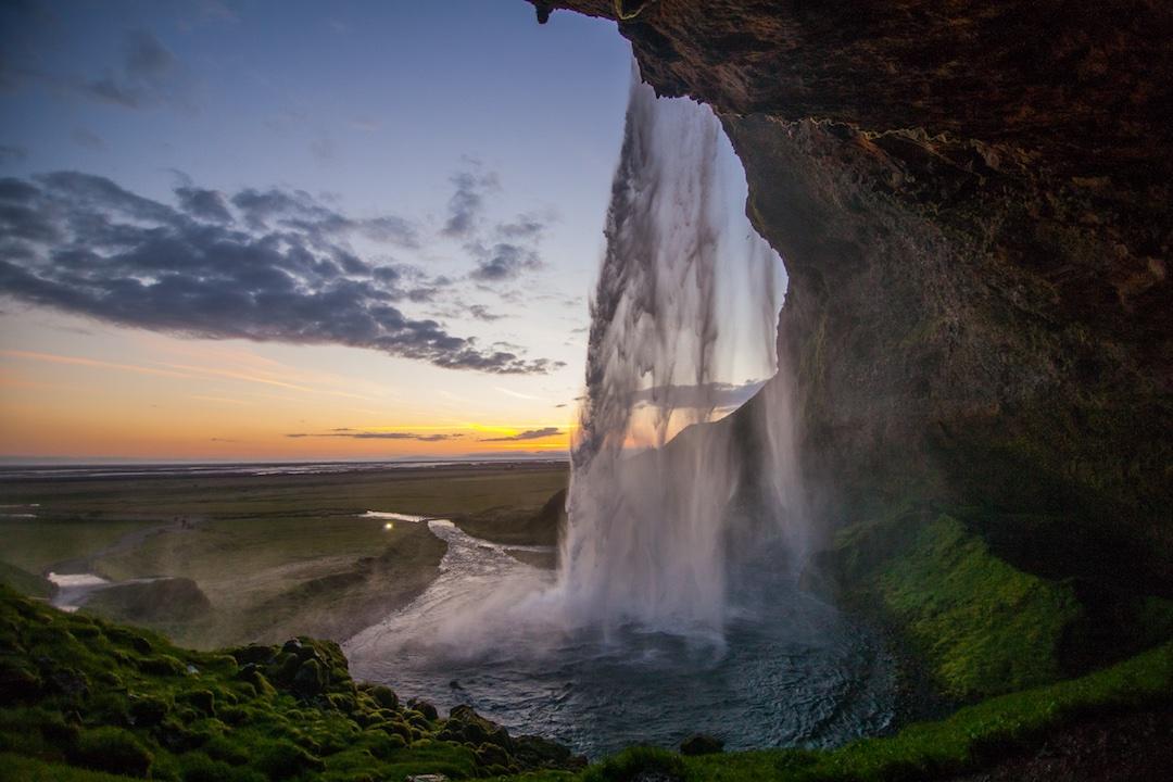 Iceland-waterfall