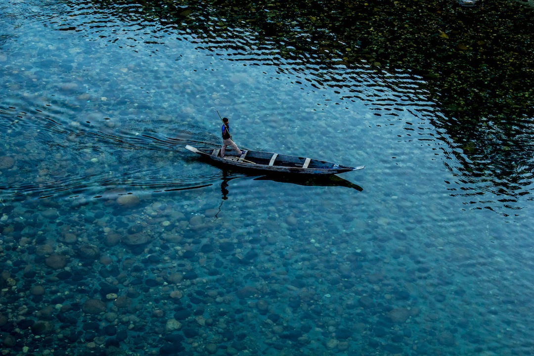 India-water-boat
