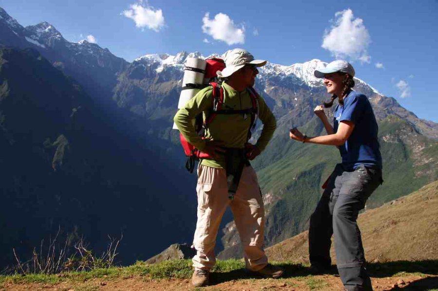 hikers salkantaytrek