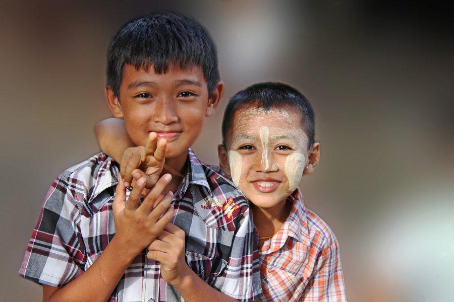 Myanmar kids