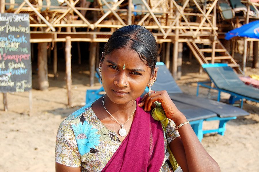 Girl in Goa