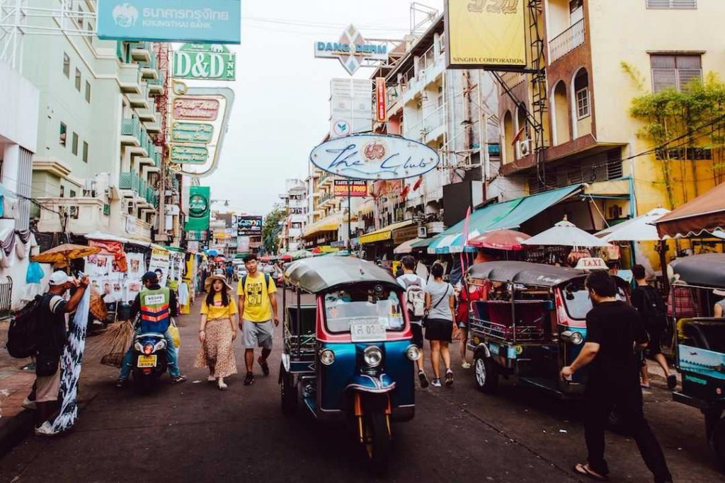 a street in Thailand