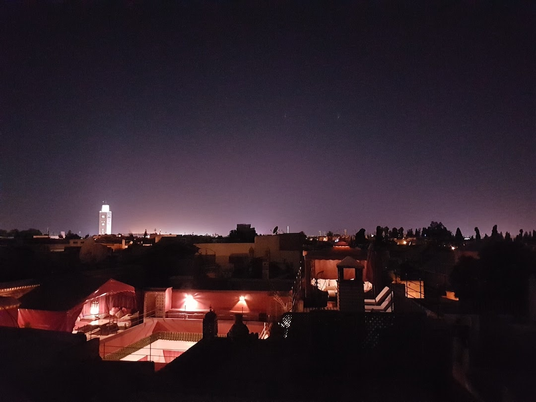 Rooftop riads in Marrakech