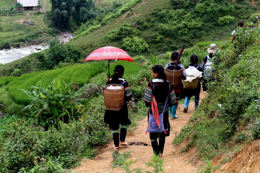trek in Vietnam