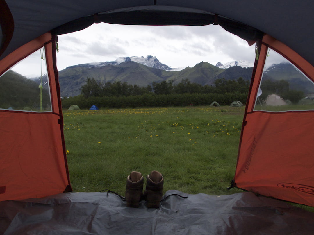 camping in Iceland