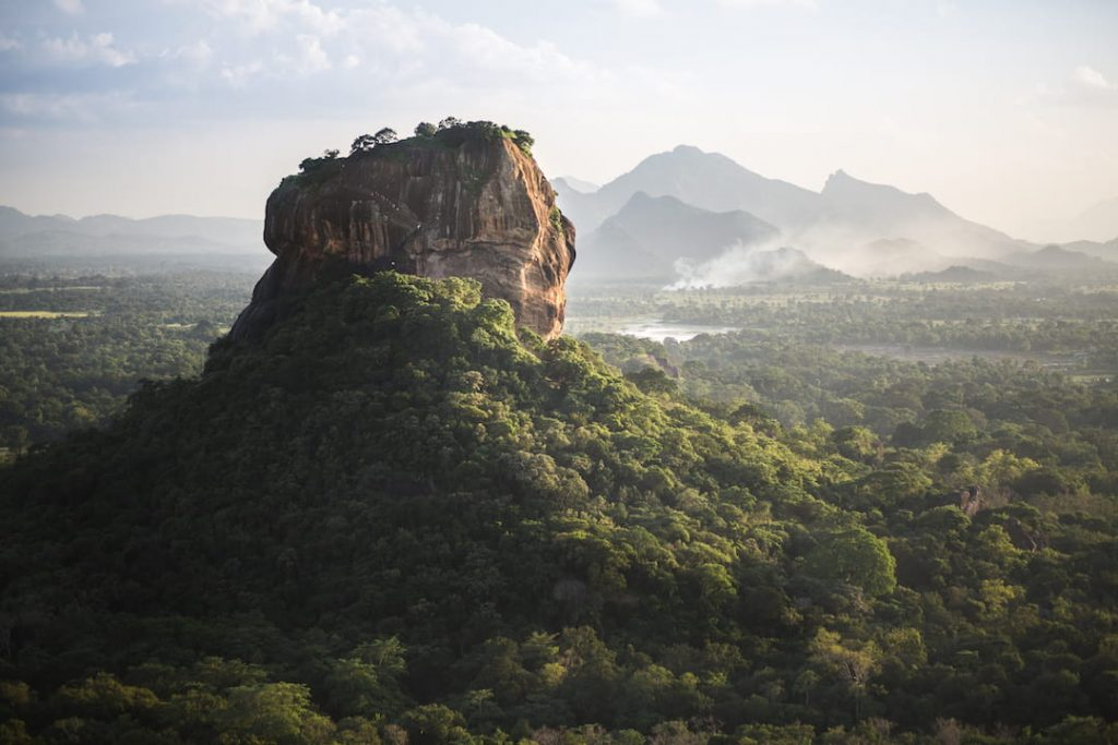 Sigiriya or Sinhagiri is an ancient rock fortress located in the northern Matale District near the town of Dambulla in the Central Province