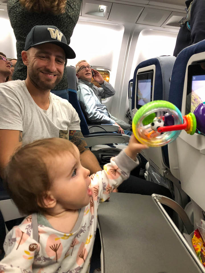 Tips For Travelling With A Baby Under 1 Year Old On A Plane Days To Come