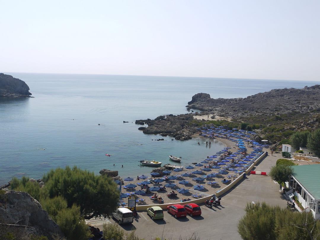 ladiko beach