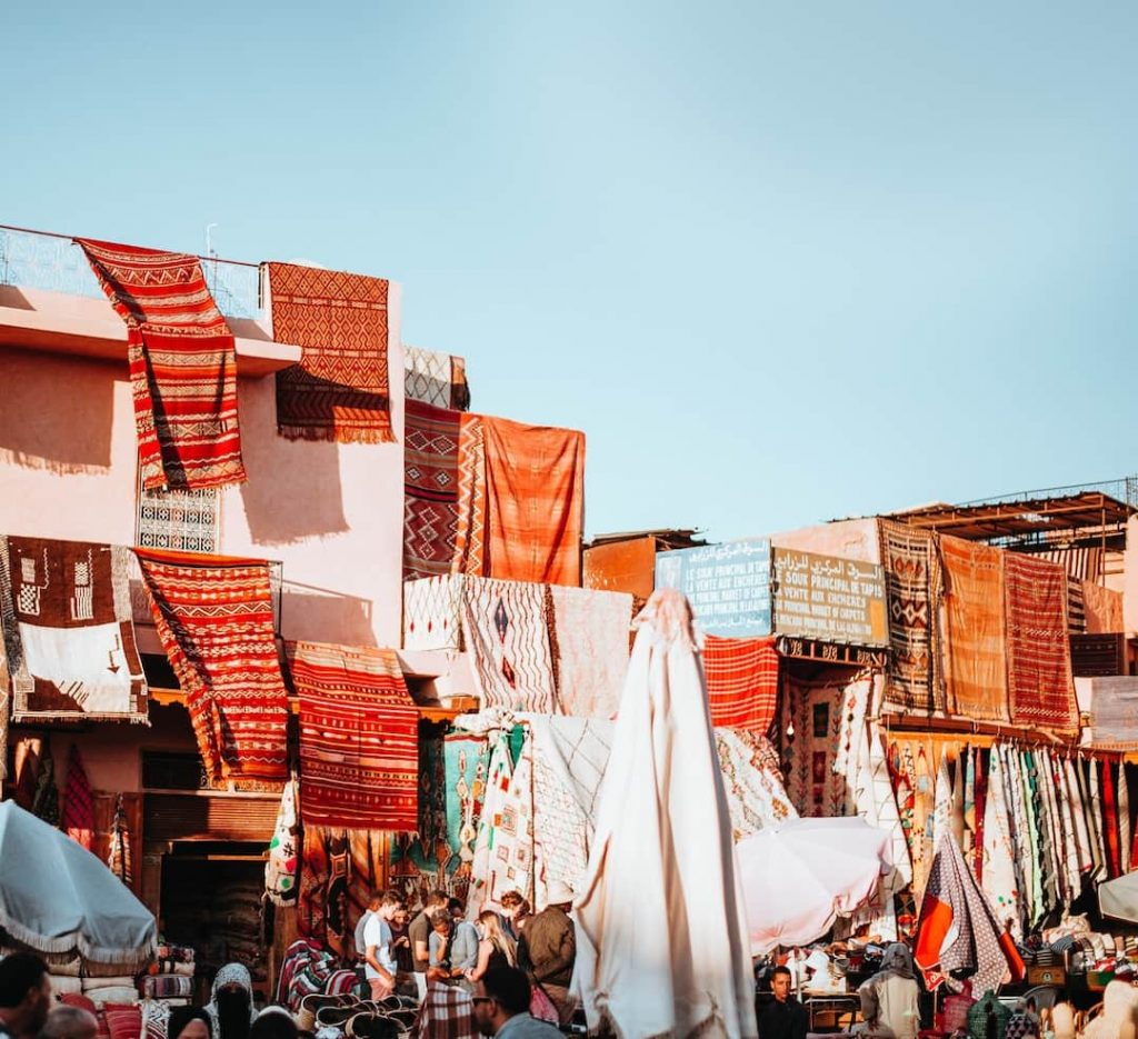 morocco streets