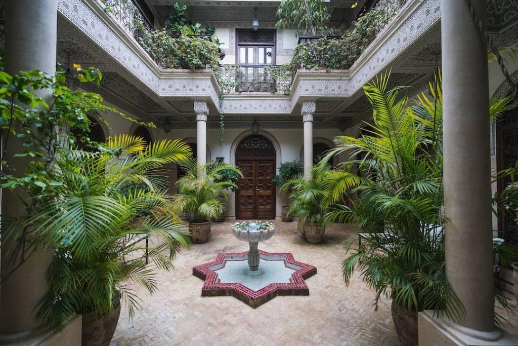 morocco garden