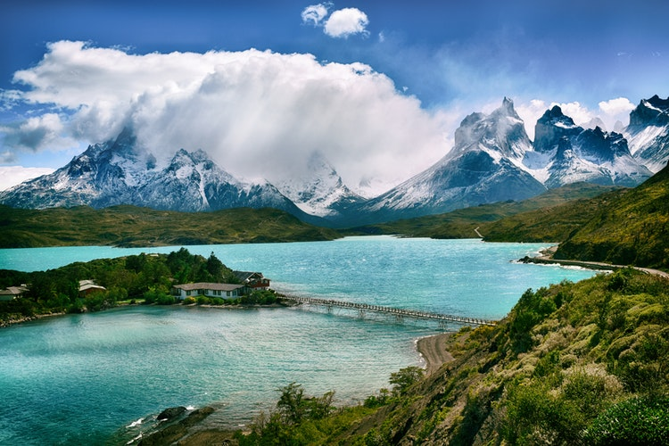 The natural beauty of Torres del Paine National Park, Chile