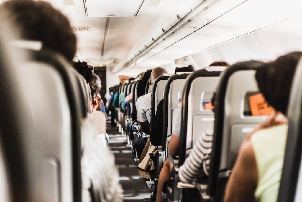 Boarded plane - long flight accessories