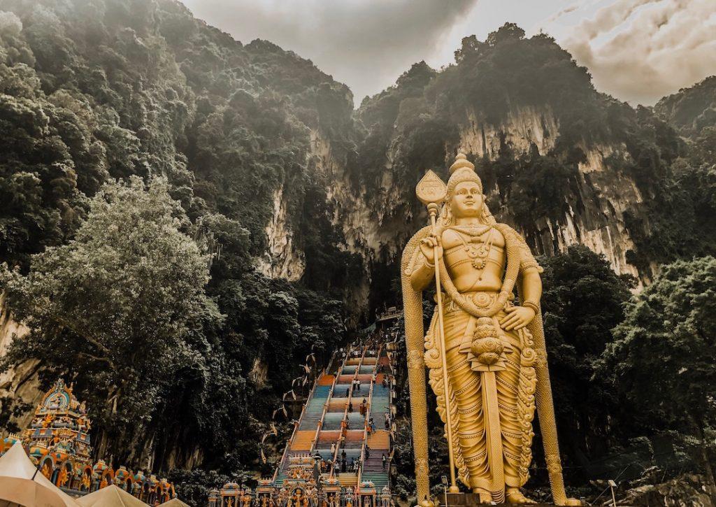 Grottes de Batu en Malaisie