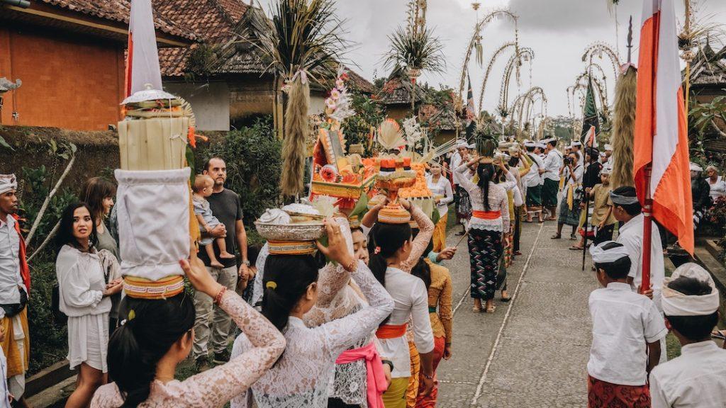 Village de Penglipuran, Bali, Indonésie