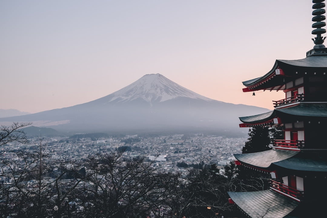 Mt Fuji- Hotel or Guesthouse Japan