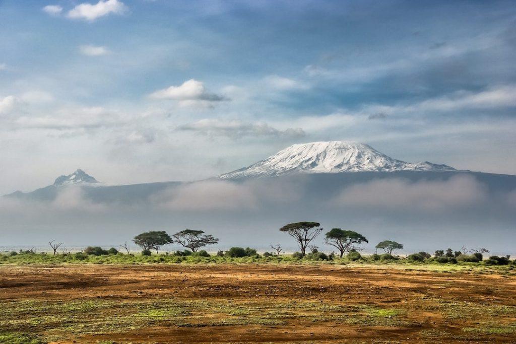 Mount Kilimanjaro as seen from Kenya