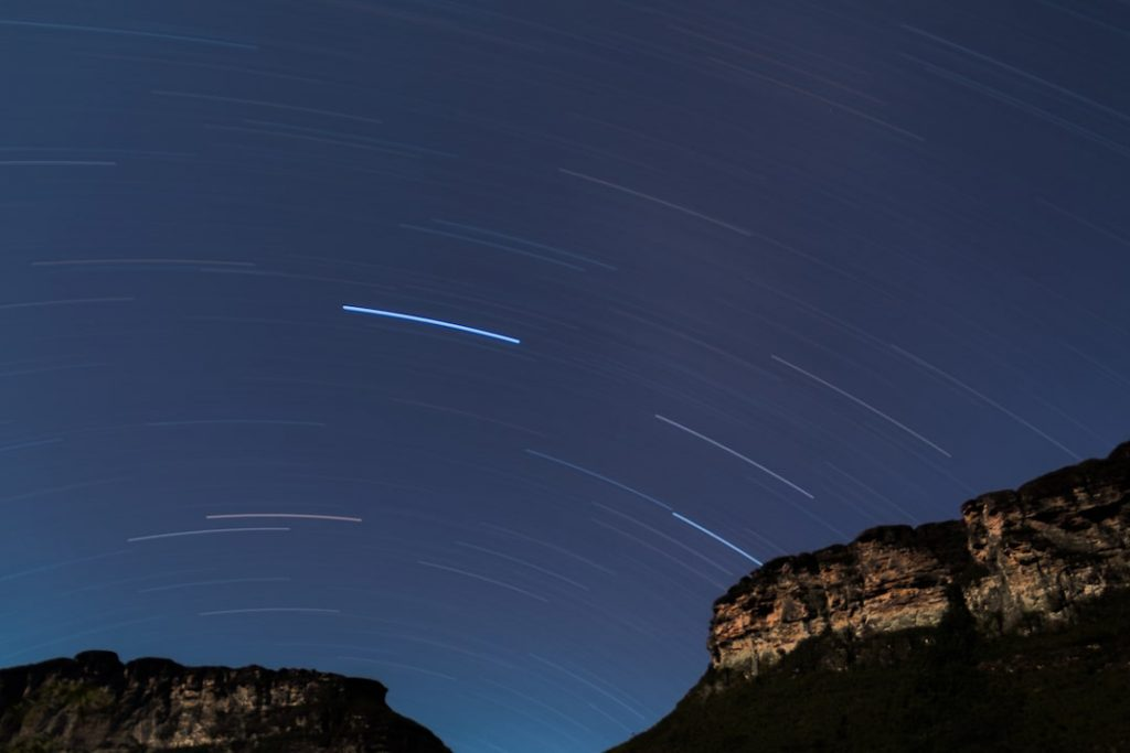 Stars on the Patí Valley Trail, Lencois, Bahia, Brazil