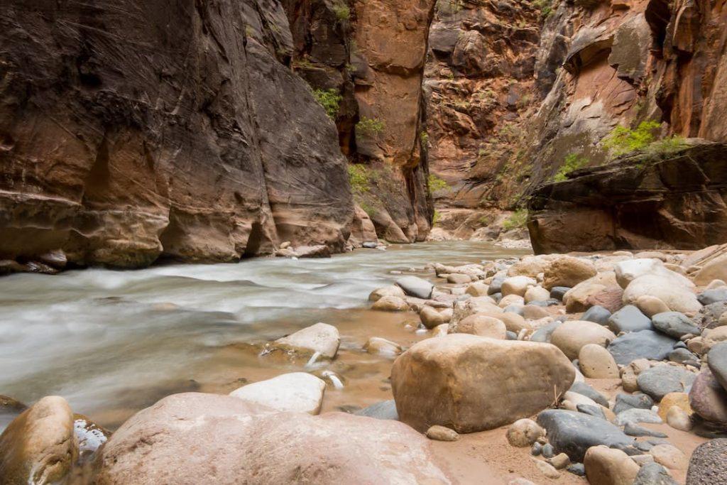 The Virgin Narrows, Zion National Park, Utah