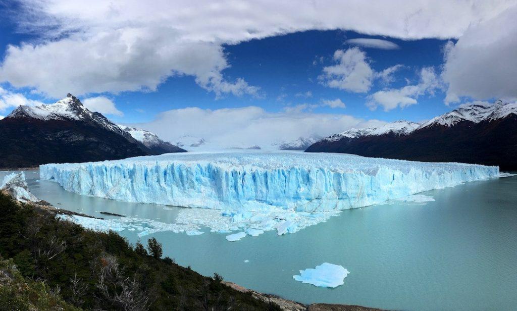 View of the Perito Moreno glacier, Argentina