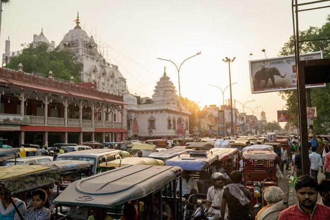 chandni chowk, Delhi, India