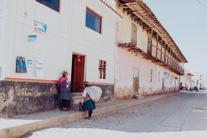Women in Cusco, Peru