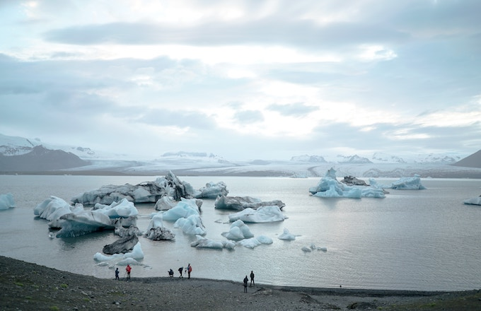 Svinafellsjokull Glacier, Iceland