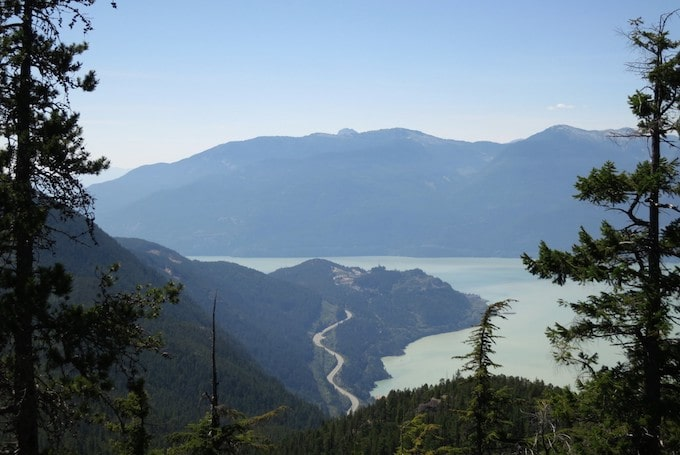 The Sea to Sky Highway, British Columbia