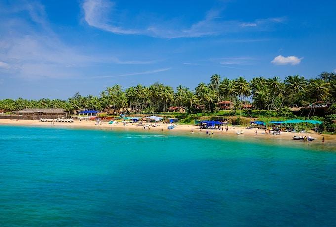 A beach in Goa, India