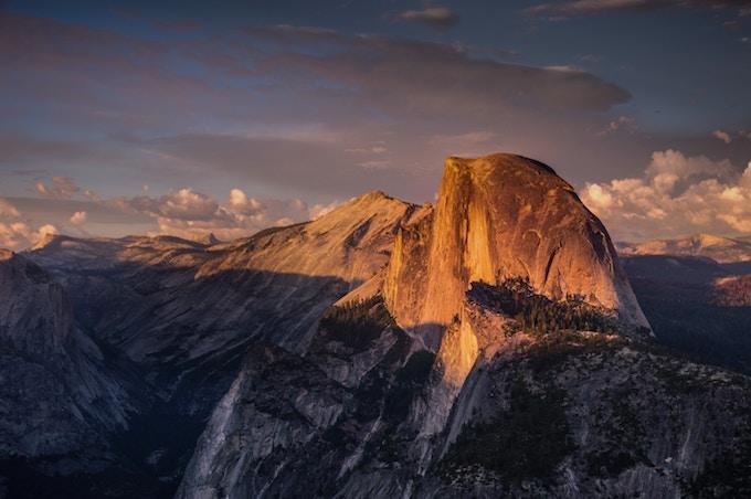 The Half Dome, Yosemite National Park