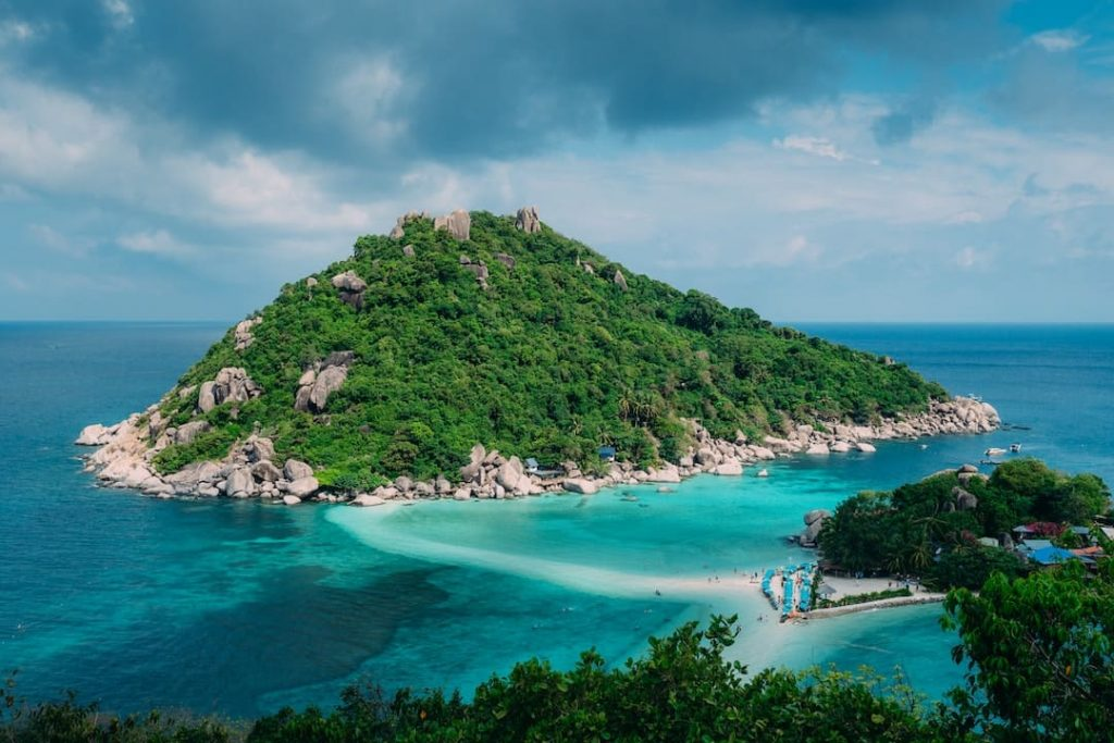 Lookout point over Koh Samui, Thailand