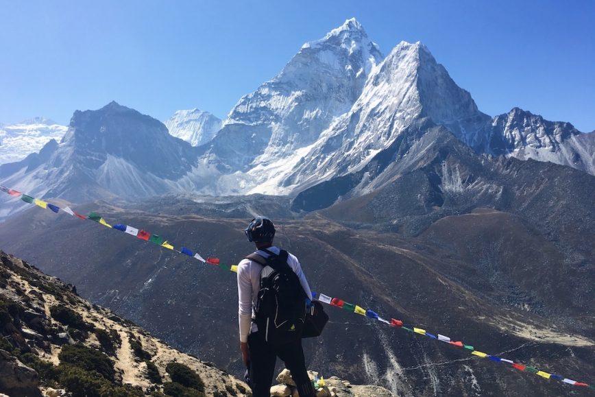 Beginner Mountaineering in Nepal