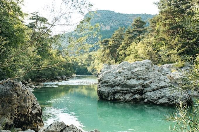 Gorges du Verdant, France