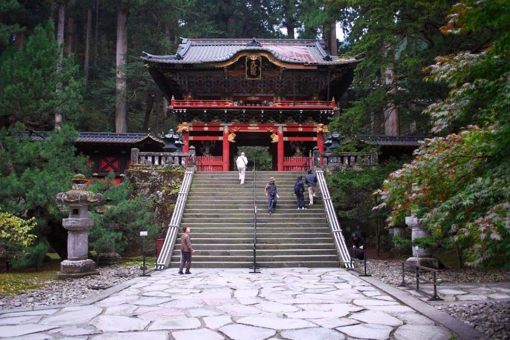 Taiyuin temple in Nikko, Japan