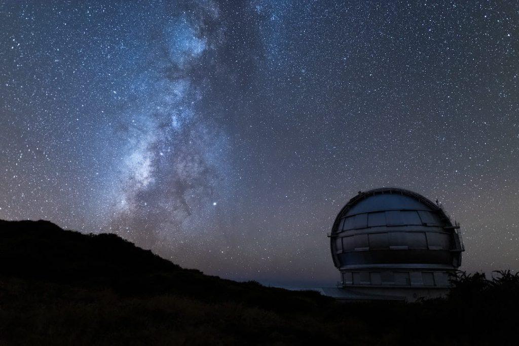 Gran Telescopio Canarias in La Palma, Canary Islands