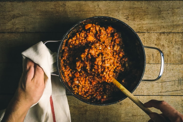 Ayurvedic cooking principles for beginners include a simple pot of lentils