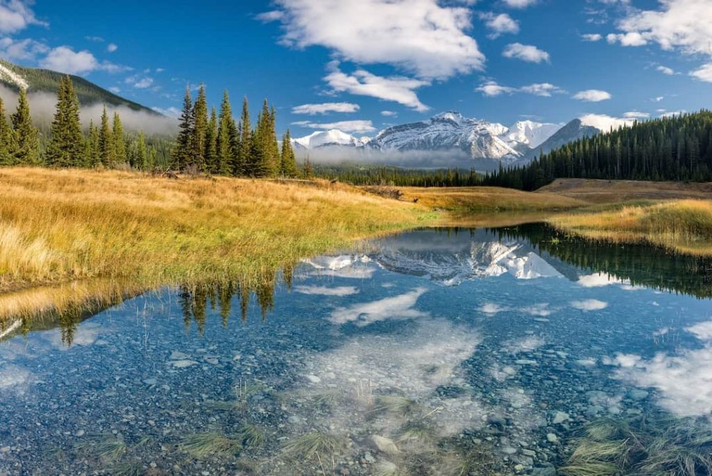 National park in the Canadian Rockies