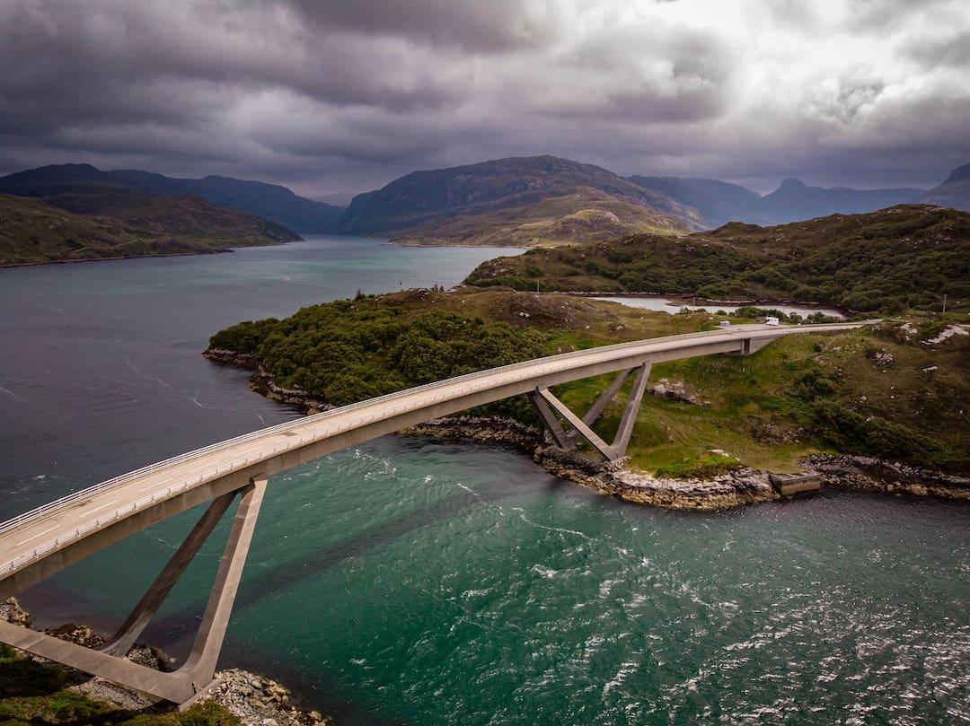 Kylesku Bridge, North Coast 500, Scotland