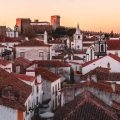 Sunset in Obidos, Portugal