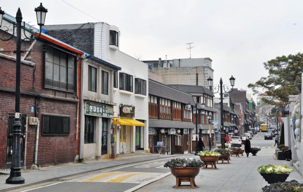 Open Port Street, Incheon, South Korea