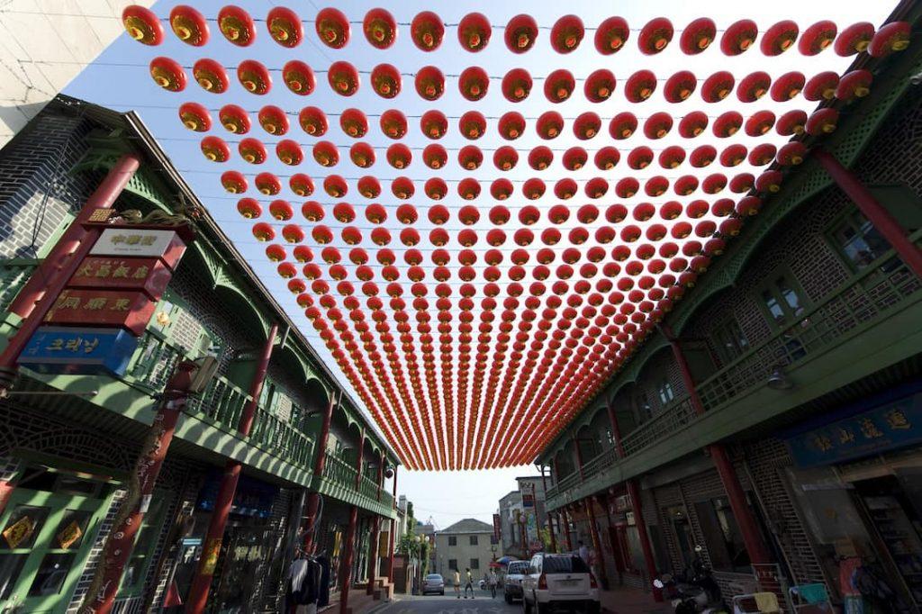 Chinatown in Incheon, South Korea