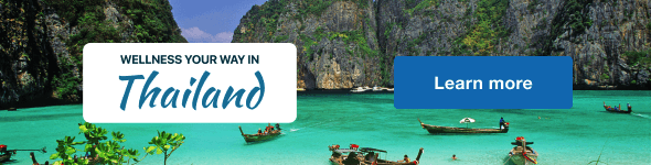 Wellness Your Way In Thailand Landing Page.