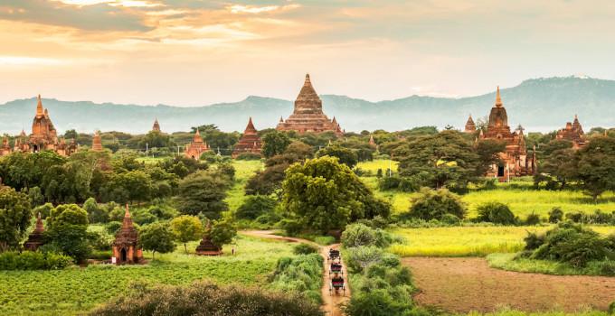 Bagan Temples, Myanmar Topdeck 2